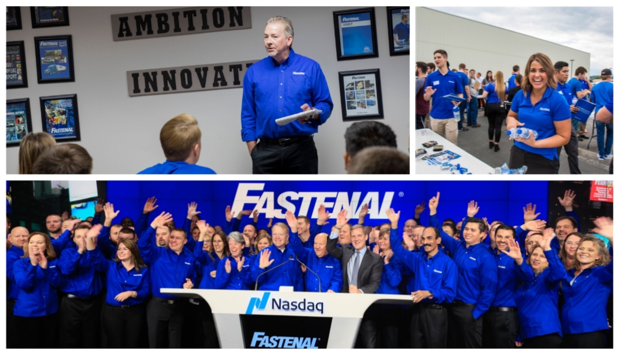 We invest in our employees through Training, Ownership, Innovation, and Opportunity.