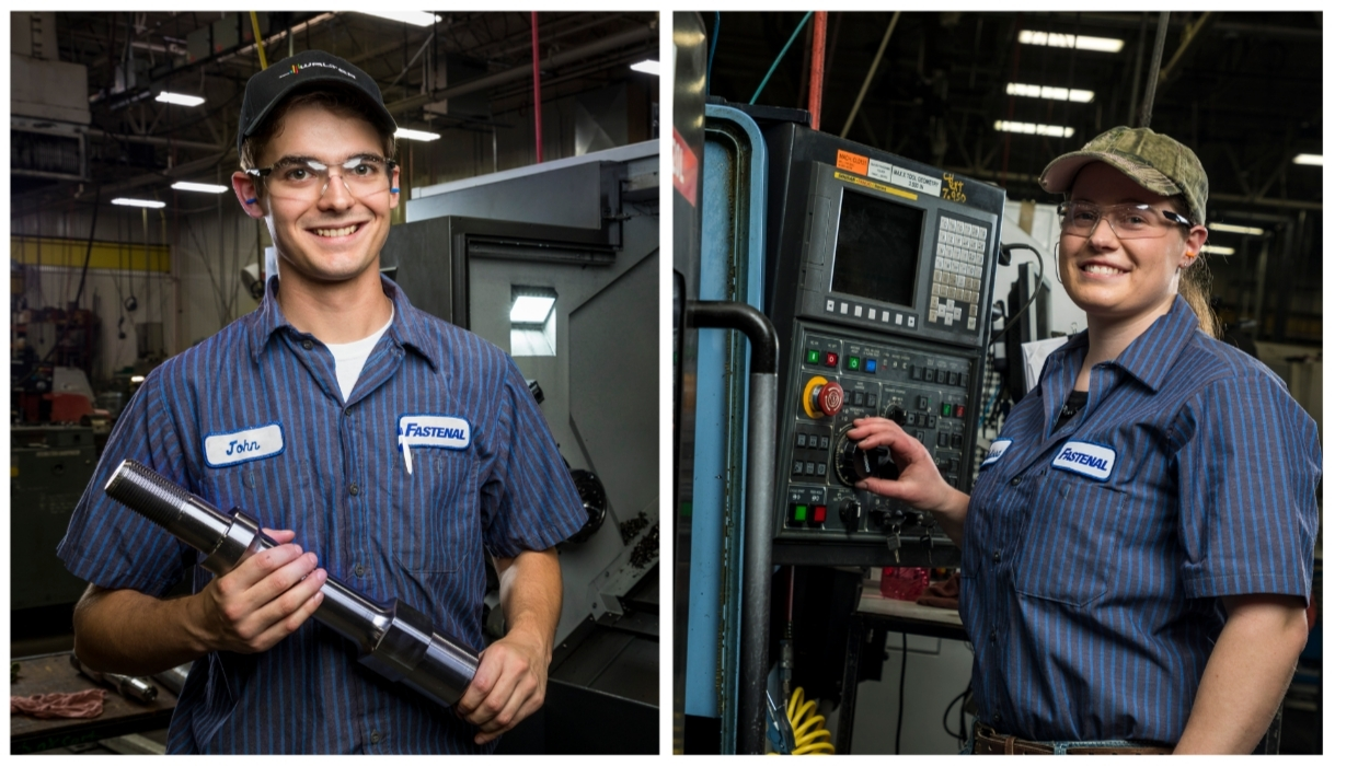 Our entry-level and skilled machinists produce fully machined, hot forged, and cold forged parts.