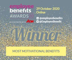 Sunrise Senior Living winners of 'Most Motivational Benefits' award at 2020 Employee Benefit Awards