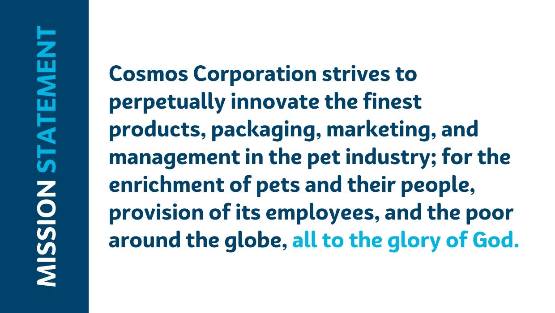 Cosmos Mission Statement