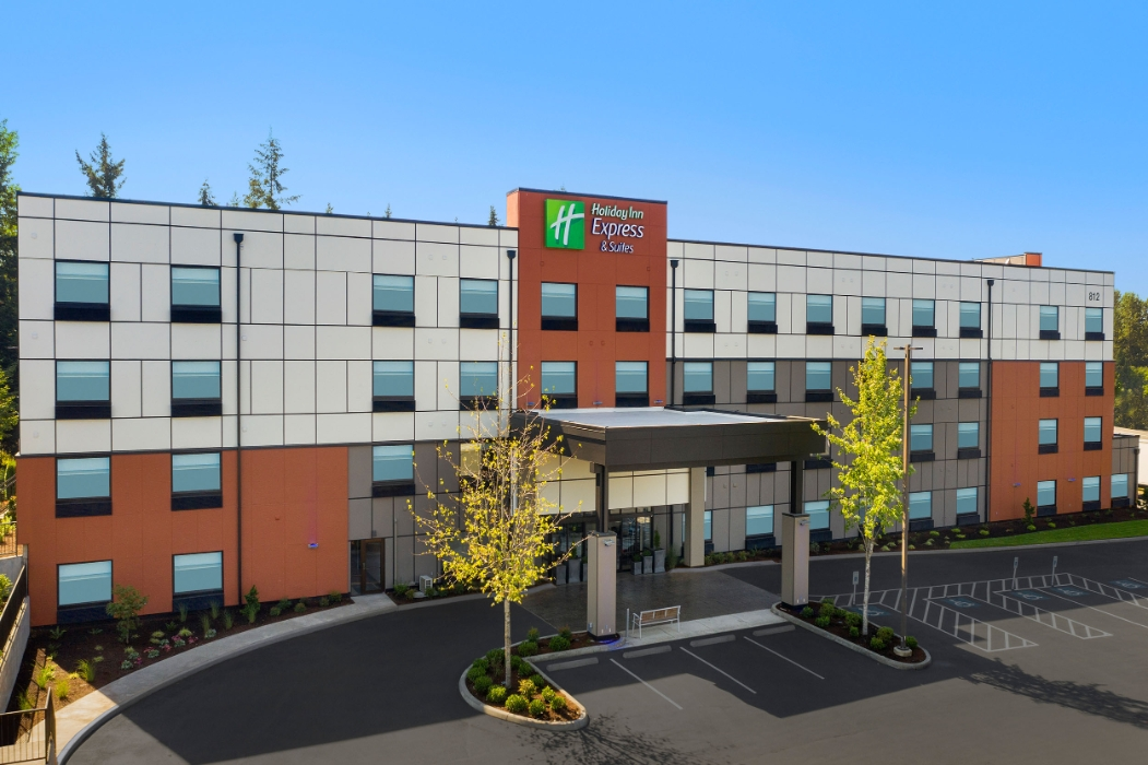 Image of Holiday Inn Express & Suites Puyallup.