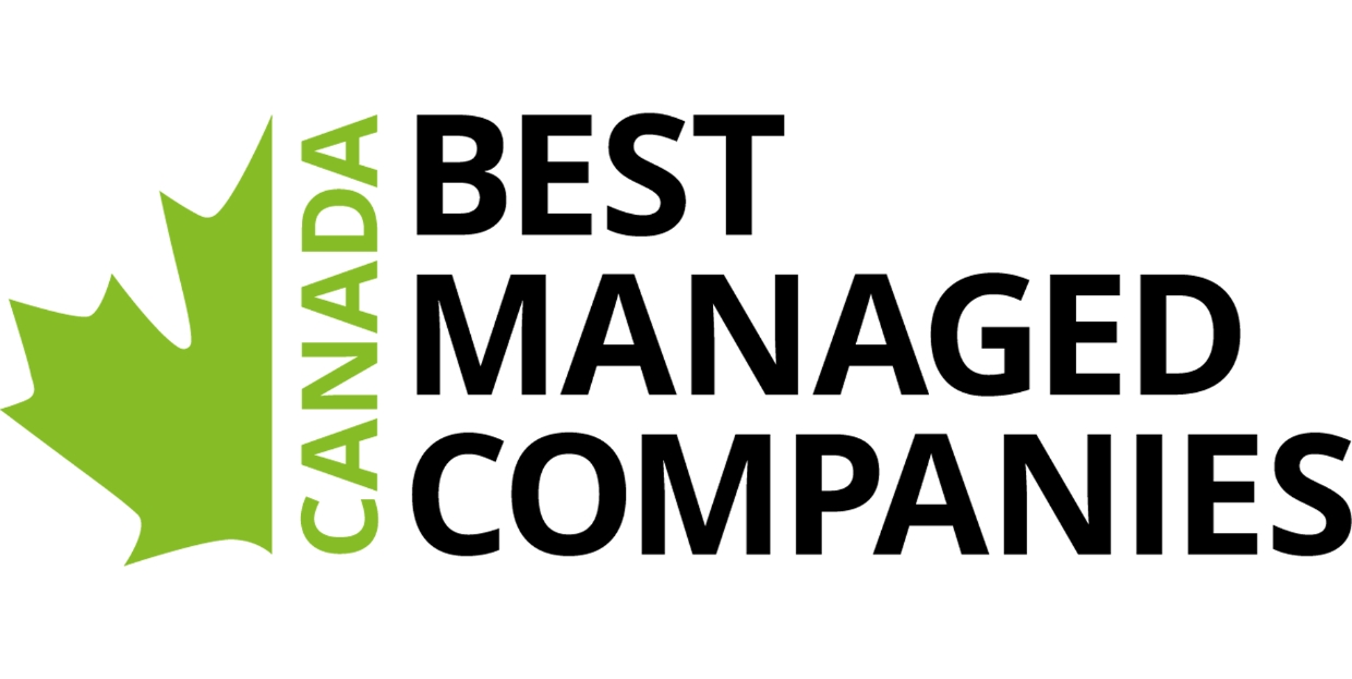We're proud to be a winner of Canada's Best Managed Companies.
