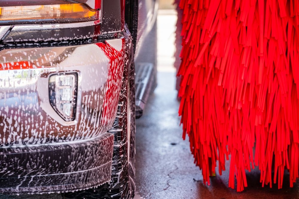 Flagship offers the latest car wash technology in an eco-friendly way.