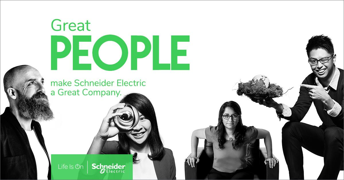 Great people make Schneider Electric a great company