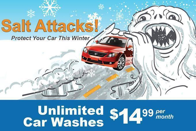 Big splash car wash careers and employment indeed salt monster winter promo billboard solutioingenieria