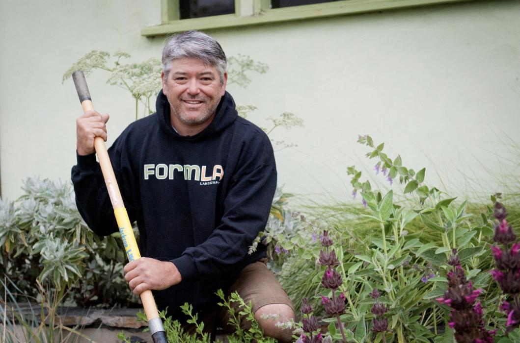 FormLA Landscaping Mason Andy Aoyagi