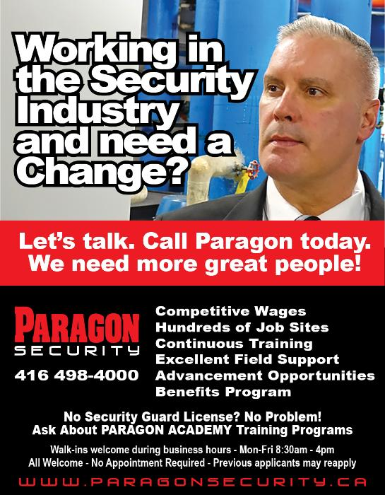 Paragon Security Mission, Benefits, and Work Culture