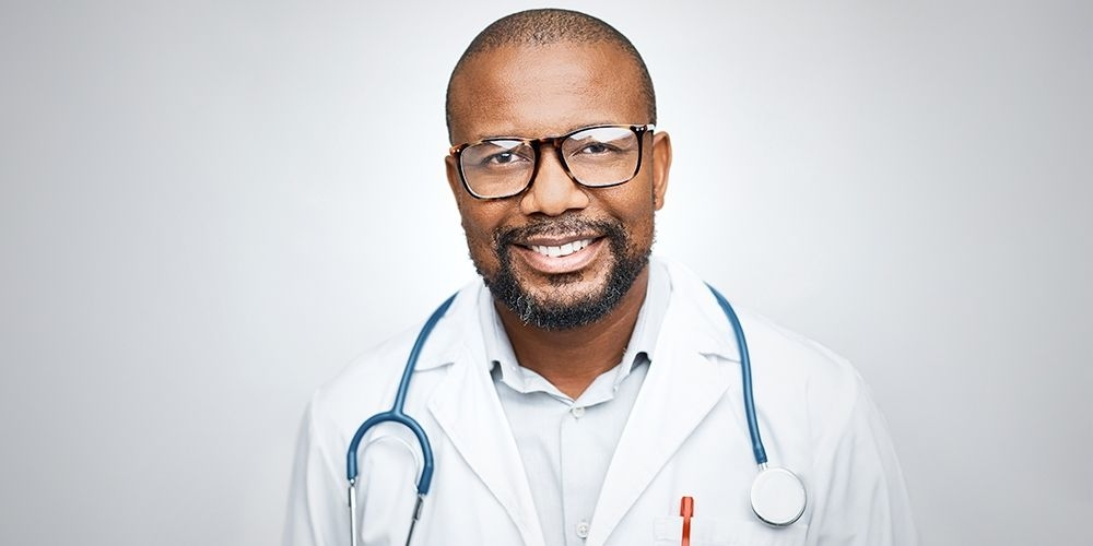 Image of a dr. smiling
