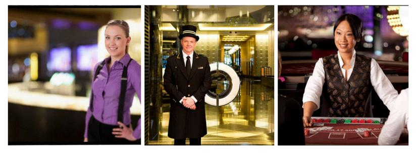 crown casino employees