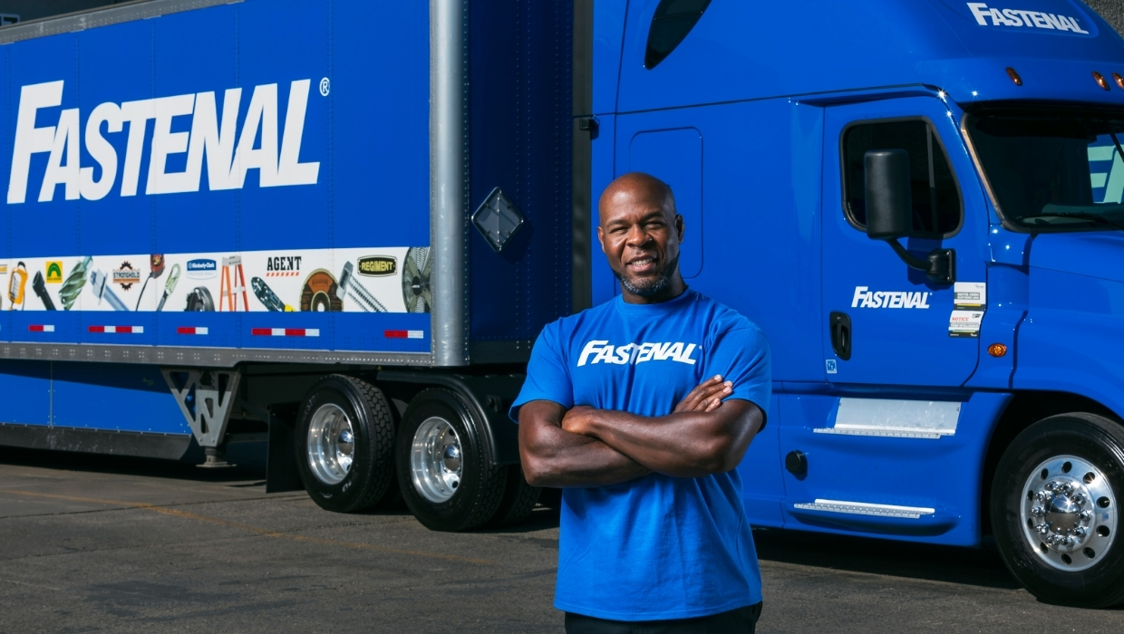 Fastenal Semi Drivers haul freight regionally from our Distribution Centers to branch locations.