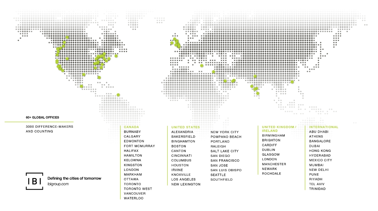 Spread across over 60 cities, our teams are defining and designing the cities of tomorrow.