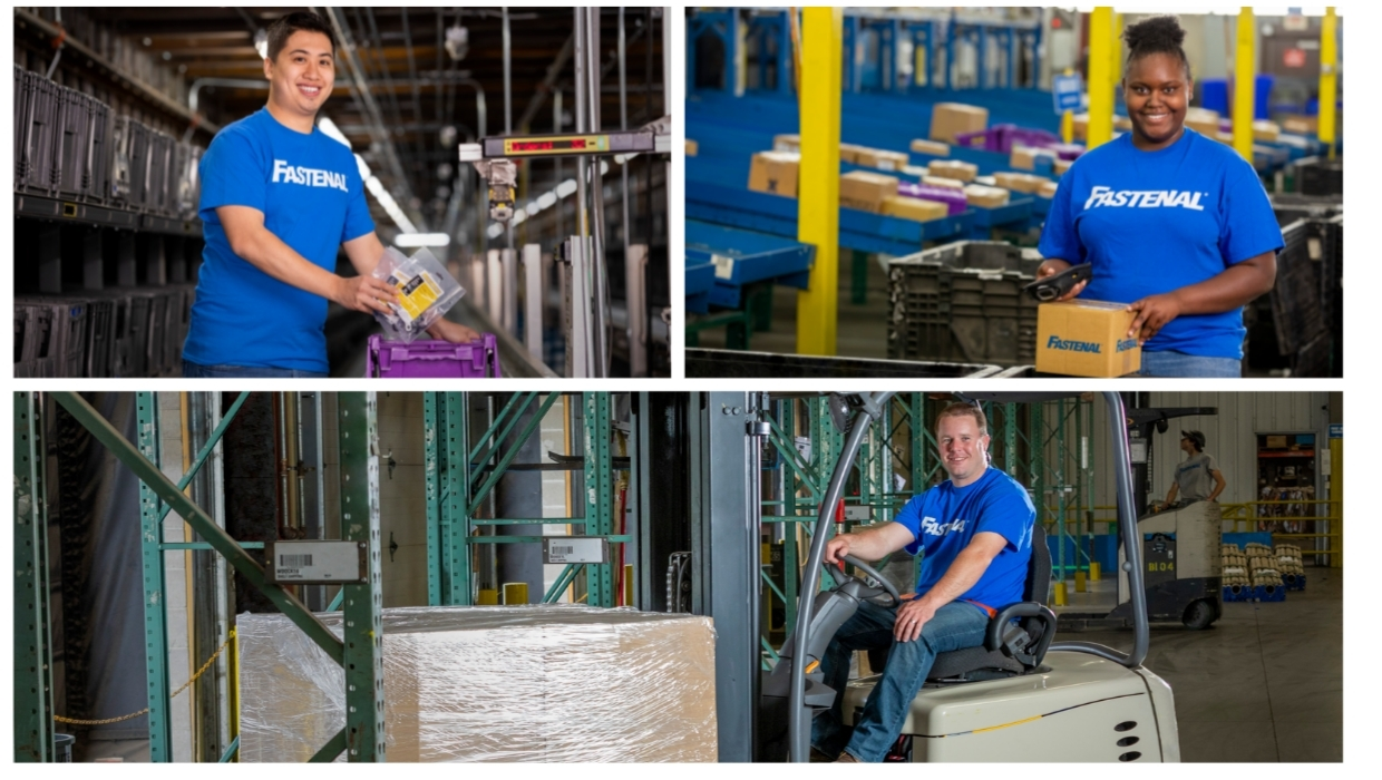 We cannot successfully service our customers without dedicated warehouse workers behind the scenes.