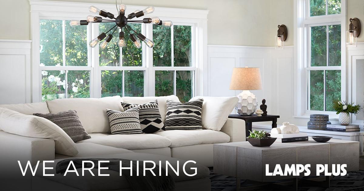Lamps Plus Has Been At The Forefront Of Lighting Design And Decor Since  1976. Join Our Team And Become Part Of A Fun, Dynamic And Growing Work  Force.