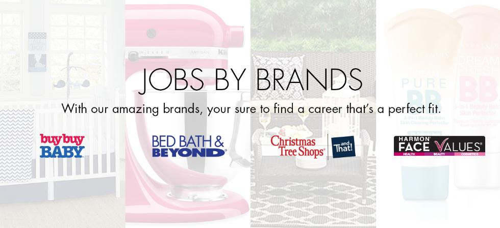 bed bath beyond careers and employment indeedcom - Christmas Tree Shop Careers