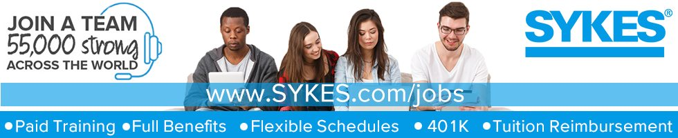 Working At Sykes Enterprises Incorporated In Fayetteville Nc 221
