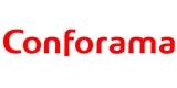 logotipo de la empresa Conforama