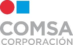 logotipo de la empresa COMSA CORPORACION