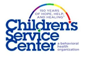 Children's Service Center of Wyoming Valley Inc.