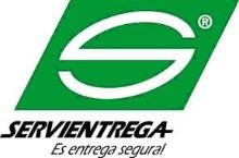 logotipo de la empresa servientrega