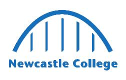 Newcastle College Apprenticeships logo