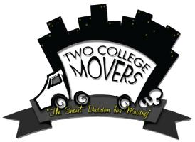 Two College Movers logo