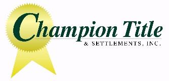 Champion Title & Settlements logo