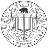 The State Bar of California logo