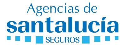 logotipo de la empresa Santalucia seguros