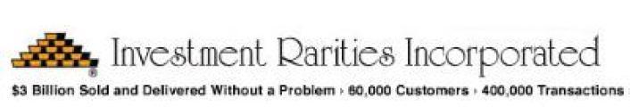 Investment Rarities logo