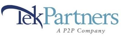TekPartners, A P2P Company logo