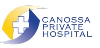 Canossa Private Hospital logo