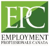 Employment Professionals Canada logo