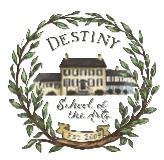 Destiny School of the Arts logo