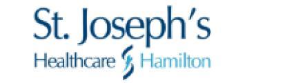 Logo St. Joseph's Healthcare Hamilton