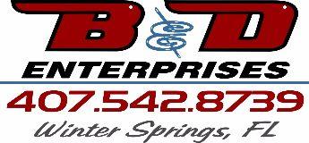 B & D Enterprises logo