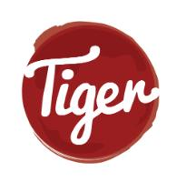 Tiger Wood Fire Pizza and Bake logo