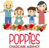 poppies childcare agency logo