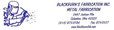 Blackburn's Fabrication, Inc