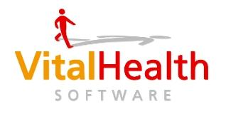 Logo van VitalHealth Software