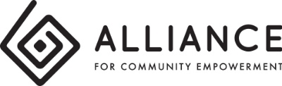 Alliance for Community Empowerment Inc logo