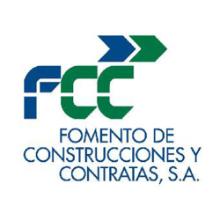 logotipo de la empresa fcc