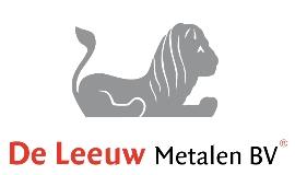 Logo van De Leeuw Metalen