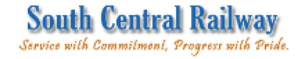 SOUTH CENTRAL RAILWAY logo