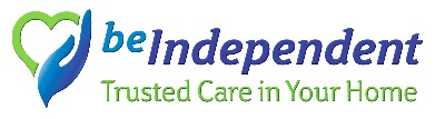 Be Independent Home Care logo