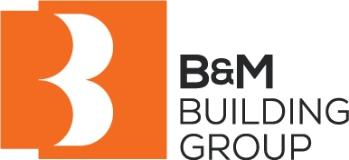 B&M Building Group logo