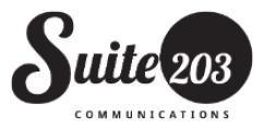 Suite 203 Communications