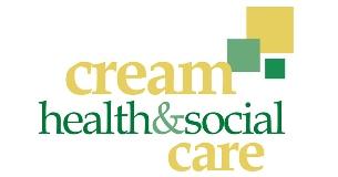 Cream Health and Social Care logo
