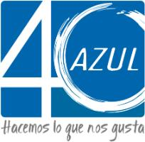 logotipo de la empresa Azul 40