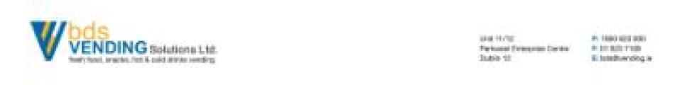 BDS Vending Solutions Ltd logo