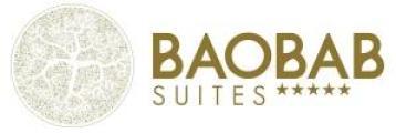 logotipo de la empresa Baobab Suites